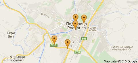 Отели Подгорицы