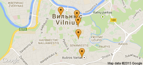 Отели Вильнюса